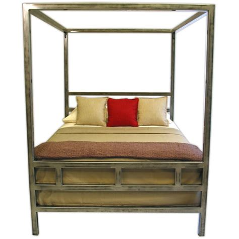 Metal Canopy Bed Frame Canopy Steel Bed Frame By Boltz Beds Boltz Steel Furniture
