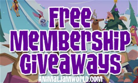 Animal Jam Membership Giveaway 2017 - animal jam world blog codes cheats guides news for 2017