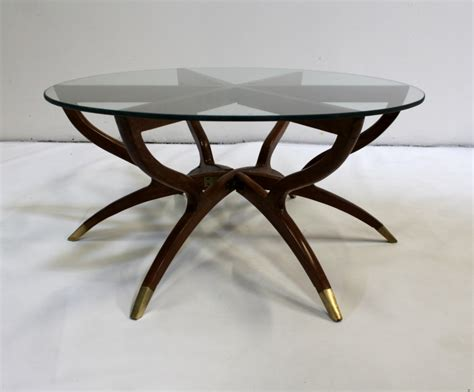 collapsible high top table spider coffee table mid century modern collapsible