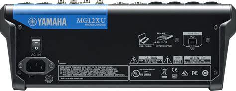 Mixer Yamaha Mg12xu yamaha mg12xu 12 input 4 mixer with effects