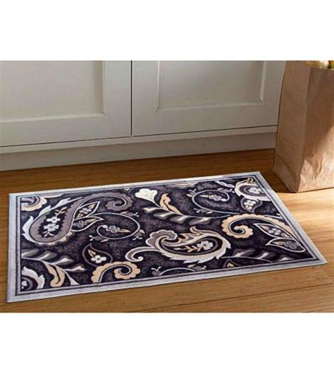 gray accent rug riva carpets gray paisley accent area rug medium buy