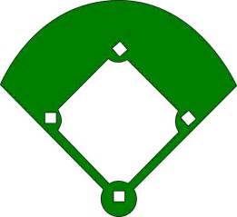 baseball diamond template clipart best
