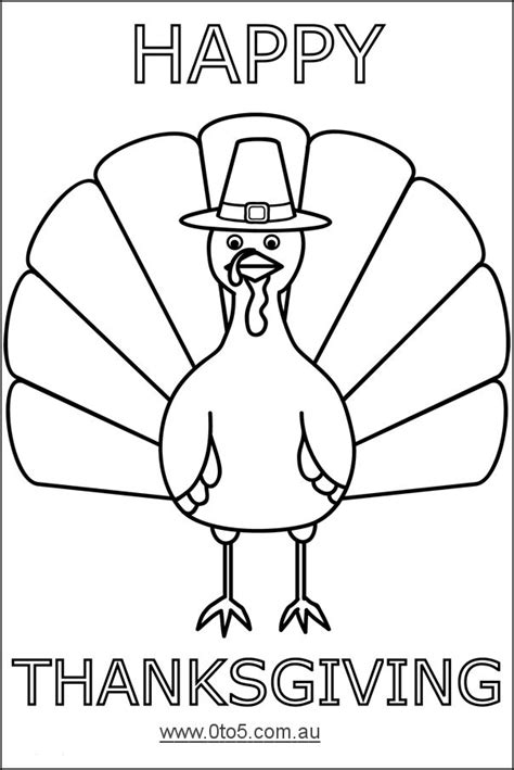 printable turkey template happy thanksgiving turkey
