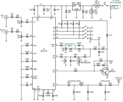 integrated circuit fm transmitter linear integrated circuit am modulator 28 images am modulator with integrated ad633 youspice