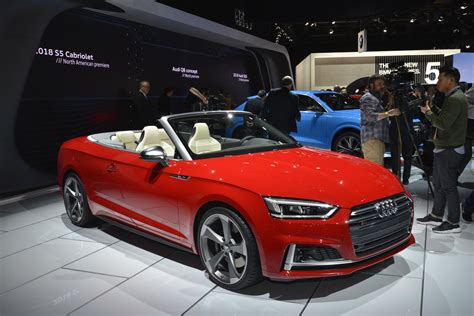 Audi S5 Cabrio by 2018 Audi S5 Cabriolet Has One Of The Best Interiors In