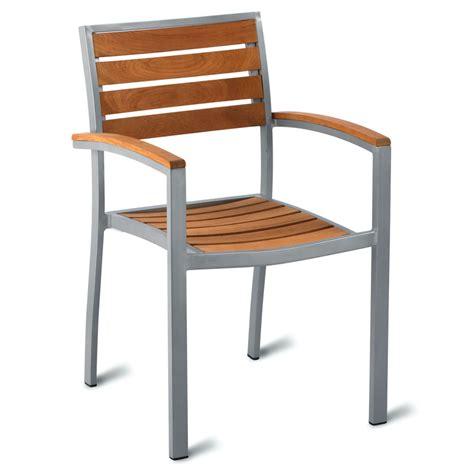 outdoor cafe furniture geneva teak outdoor cafe armchair