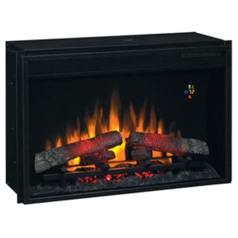 clasic 26 inch electric fireplace insert real faux