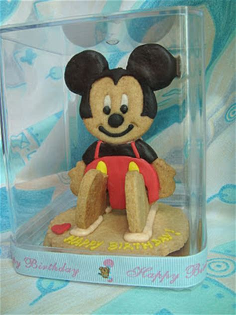 Cookies Caracter Minie Mouse 3d Baking 3d Mickey Mouse Cookies