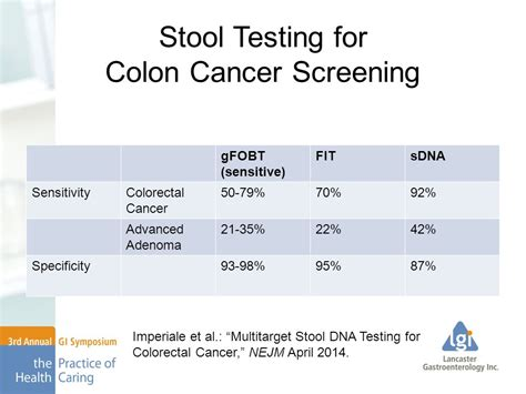 Stool Test For Cancer poo do you the modern era of stool testing ppt