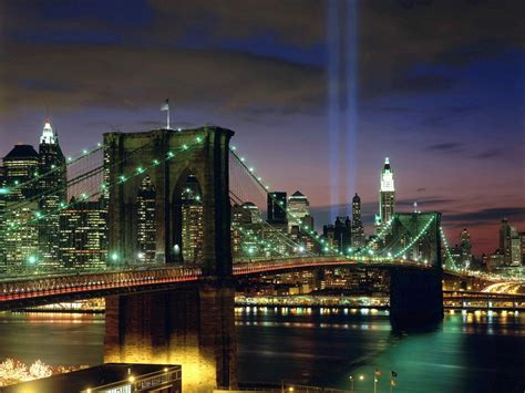 Tribute In Light New York City Wallpapers Hd Wallpapers New York City Lights