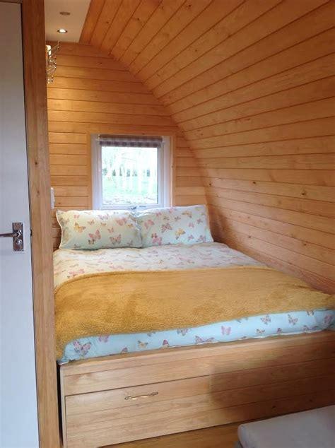 pod bedroom installed premier plus gling pod henley in arden