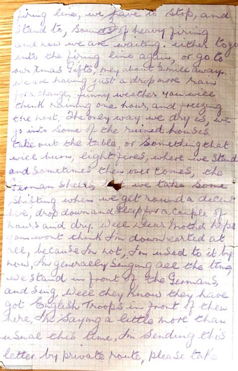 German Letter Joke lance corporal willie loasby s letter reveals how the wwi