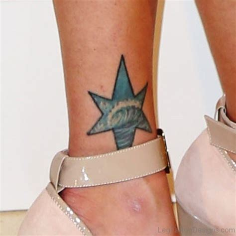 cute star tattoos 54 tattoos on ankle