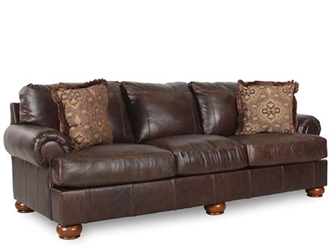 all leather couches axiom walnut all leather 4200038 sofa marjen of chicago