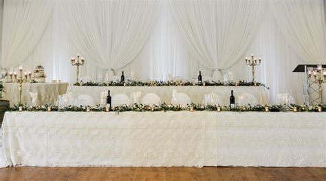 Wedding Decor   Ceremony & Reception Decor   Head Table