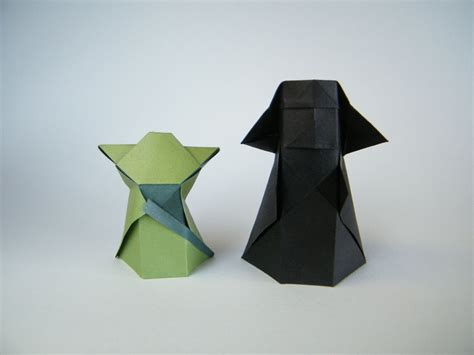 Origami Wars Characters - origami yoda pictures