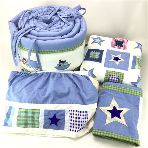 Koala Baby Locomotion 4 Pc Crib Bedding Set Boat Truck Koala Crib Bedding