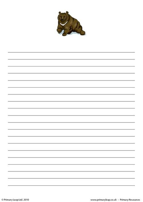 animal writing paper animal writing paper 28 images free coloring pages