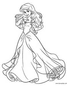 mermaid printable coloring pages 3 disney