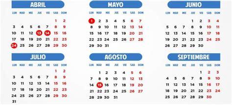calendario enero 2017 con dias feriados mxico el calendario laboral de 2017 incluye el 2 de enero y el