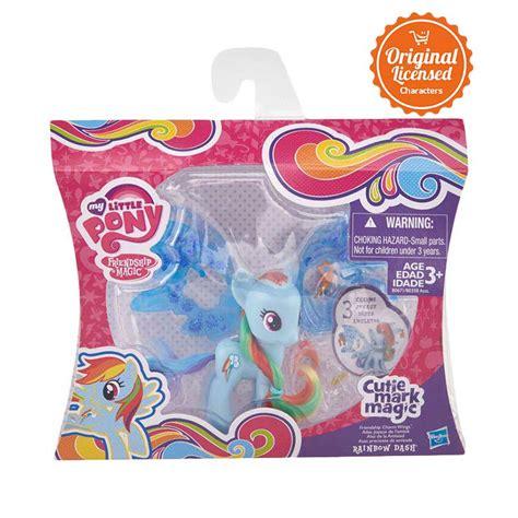 Mainan Anak Mainan Anak Figure Pony Cutie Magic No 1146 jual my pony cutie mag deluxe winged rainbow figure harga kualitas