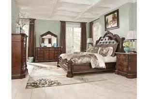 the ledelle sleigh bedroom set from furniture