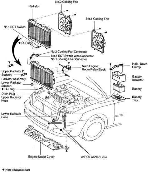 motor repair manual 2000 toyota avalon head up display repair guides engine mechanical radiator autozone com