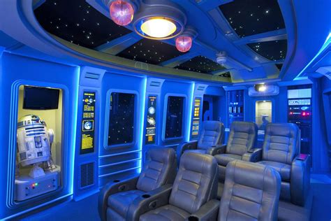 Home Theater Interior Design Ideas by Pics Of The Best Star Wars Inspired Home Theaters