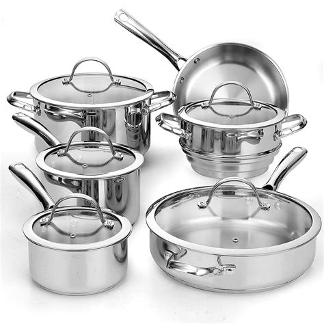 stainless steel cookware  reviews comparison