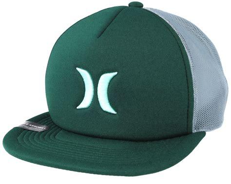 Snapback Hat Hurley Imbong 1 blocked 3 0 trucker green snapback hurley start cap