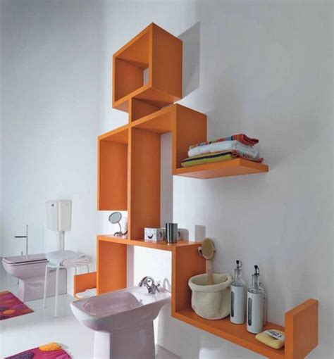 Bathroom Decor Ideas On A Budget by Creative Open Shelving For Bathroom Decorating Ideas On A
