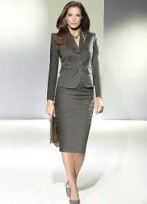 Home pencil skirt evening suit
