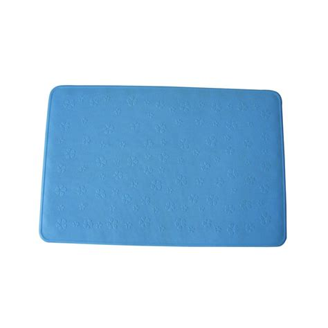 Blue Rubber Mat by Blue Rubber Bath Mat 35x53 Cm