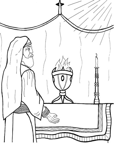 Coloring Page Zechariah | zechariah and elizabeth coloring pages az coloring pages