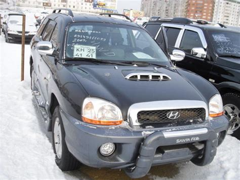 how to work on cars 2003 hyundai santa fe engine control 2003 hyundai santa fe pictures information and specs auto database com