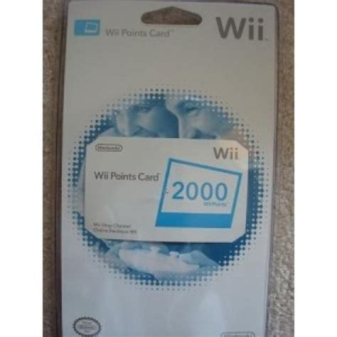 Wii Gift Cards - nintendo wii 2000 points usa gift card voucher emailed worldwide