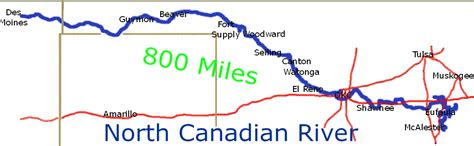 canadian river texas map doug dawgz the oklahoma river part 1
