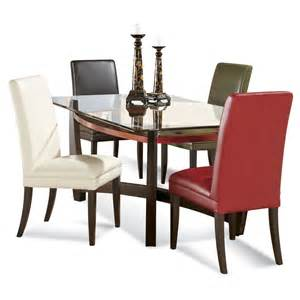 rectangular glass top dining room tables dining sets for small areas rectangular glass dining room