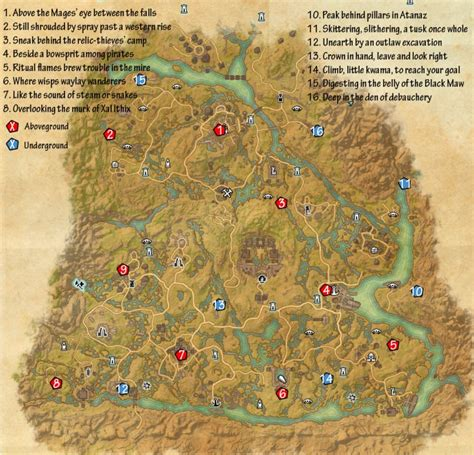 skyshard eso locations map skyshard eso location map newhairstylesformen2014 com