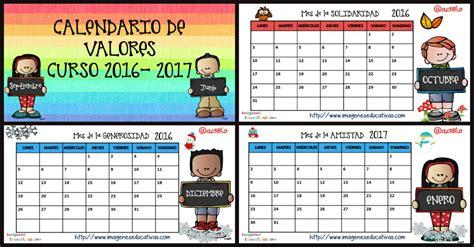 Calendario Semanal 2016 Calendario De Valores Y Planificador Semanal 2016 2017