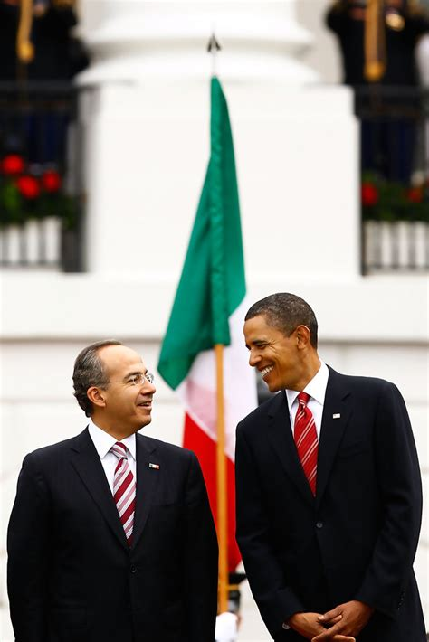 mexican white house barack obama in mexican president calderon makes state visit to white house zimbio