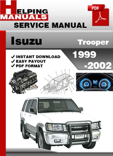Isuzu Trooper Repair Manual Isuzu Trooper 1999 2002 Service Repair Manual