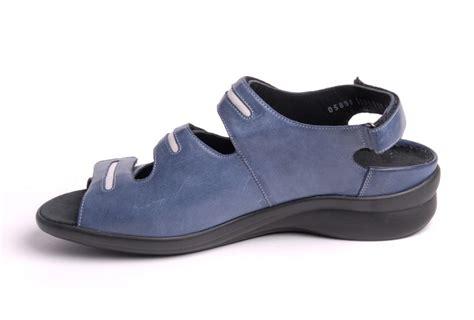 Sandal Merk Fladeo Uk 41 42 durea sandaal klitband blauw huisman schoenmode