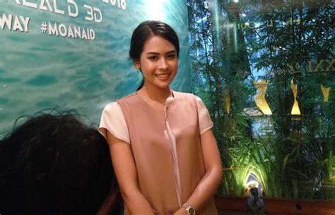 film moana bahasa indonesia lulus kuliah maudy ayunda langsung terlibat proyek