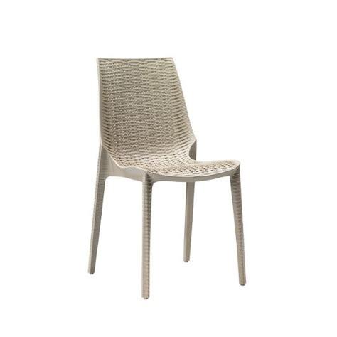 sedie grigie sedie in polipropilene arredamento locali contract