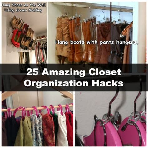 closet organization hacks 25 amazing closet organization hacks diy cozy home