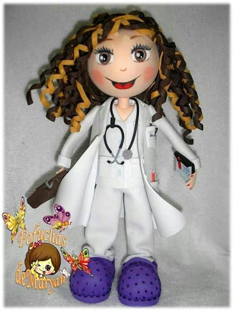 como hacer bata o blusa de medicodoctorenfermera 39 best images about enfermera on pinterest felt dolls
