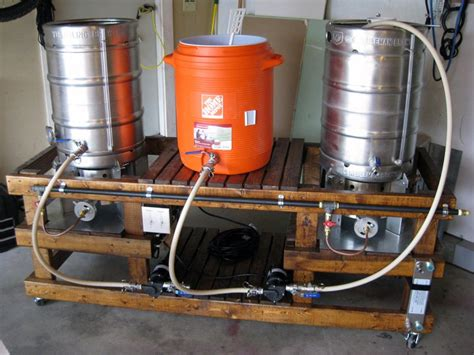 home brewing systems plans http www homebrewtalk com f51 show me your wood brew