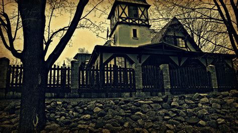 house on the haunted hill house on the haunted hill by peterdoesphotography on deviantart