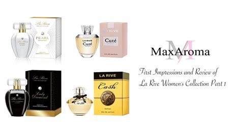 la rive s collection fragrance review part 1